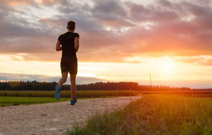 gubljenje kilograma trcanjem
